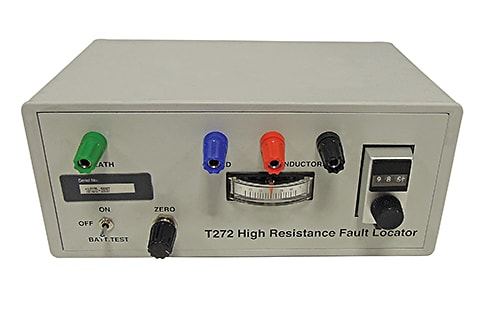 T272 High Resistance Cable Fault Locator Discontinued
