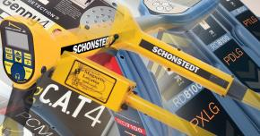 Montage of Radiodetection and Schonstedt product images