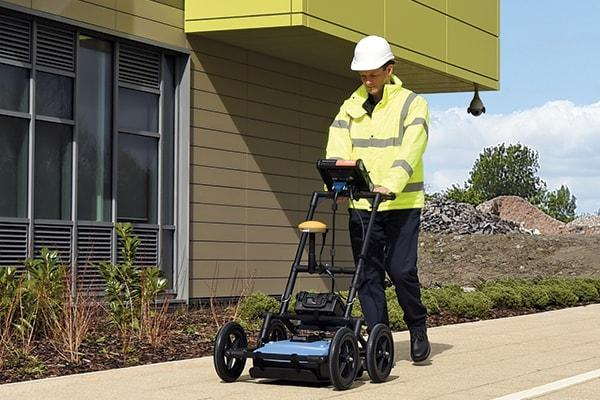 Utility Ground Penetrating Radar GPR RD1500